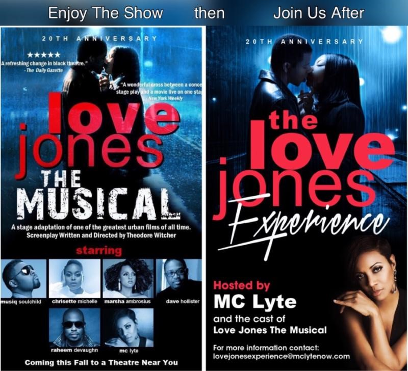 love jones musical and experience